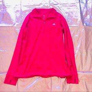 Adidas Hot Pink Running Top
